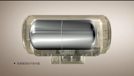 """给热水器配备免直缝内胆最大的好处在于,可以避免普通内胆经常遭遇的直缝漏水、环缝漏水等问题。免直缝内胆相对于普通内胆减少了1道环缝焊接、免去了直缝焊接。由此就规避了不少热暑期内胆焊缝间漏水问题。   除此以外,其全新焊接工艺也保证了超长耐用性,80万次冲压不变形,堪称内胆中的战斗机。   美的新品热水器四大亮点,囊括了智能、健康、高效、安全四大王牌,可谓打造了最具科技前沿的""""活水""""无懈可击。"""