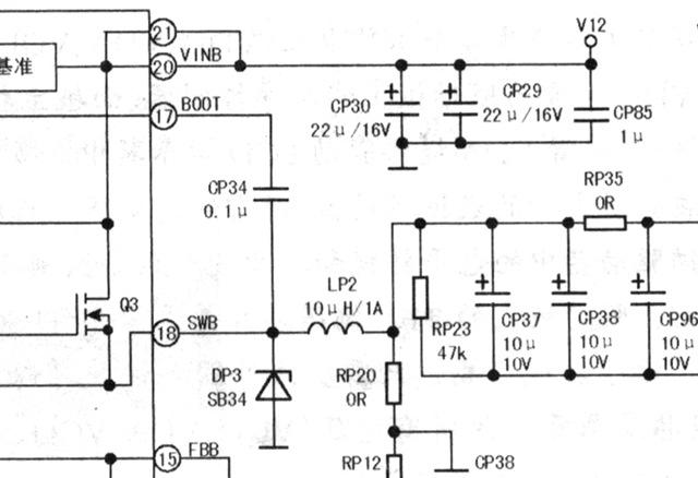 等效电路如图3.1所示.